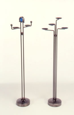 two tall-candleholders